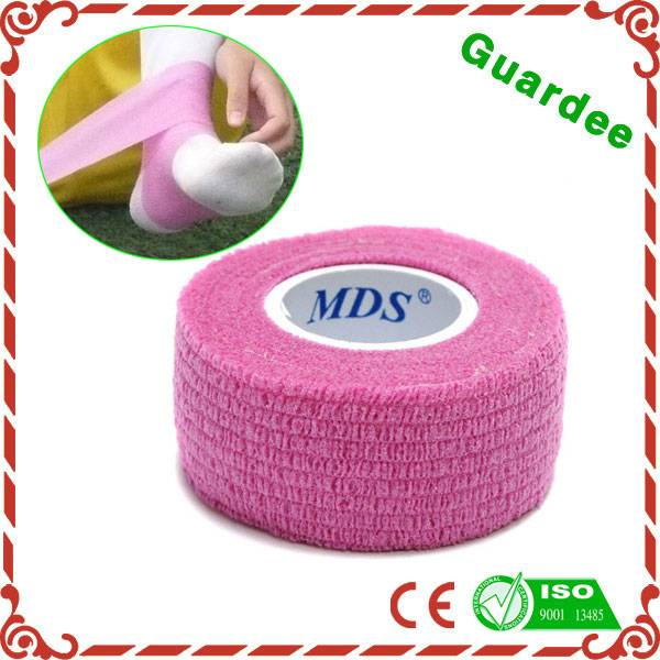 High Quality Colorful Flexible Surgical Elastic Cohesive Bandage