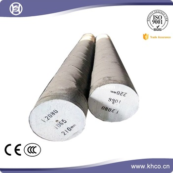 Forging alloy mould steel round bar 1.2080
