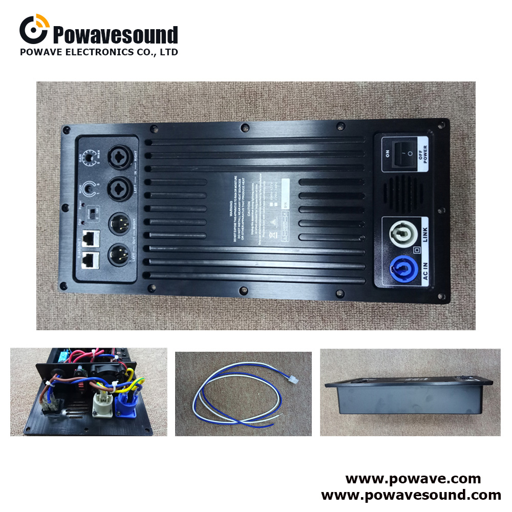 DP-1113, DP-1116 One way DSP control plate amplifier module for subwoofer