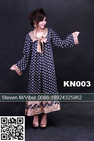 Blue Chiffon Patterns Beaded Cheap Kaftan Muumuu 2013