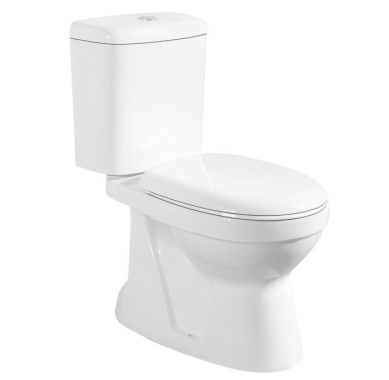 Two piece toilet s-trap toilet back to wall toilet sanitary ware