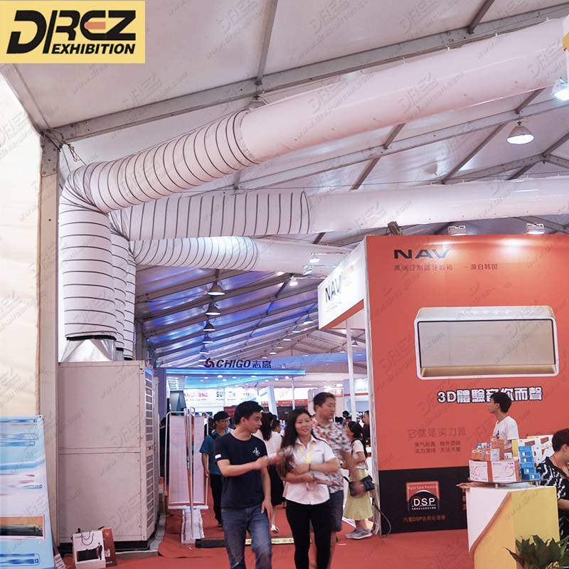 Drez 15hp Floor Standing Portable Air Conditioner for Corporate Activities Easy Transportation