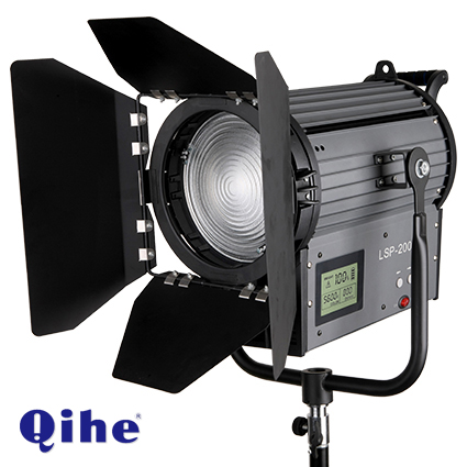 200w LED Fresnel Light SP-2000II(with DMX512) 3200k-8000k,21000LM