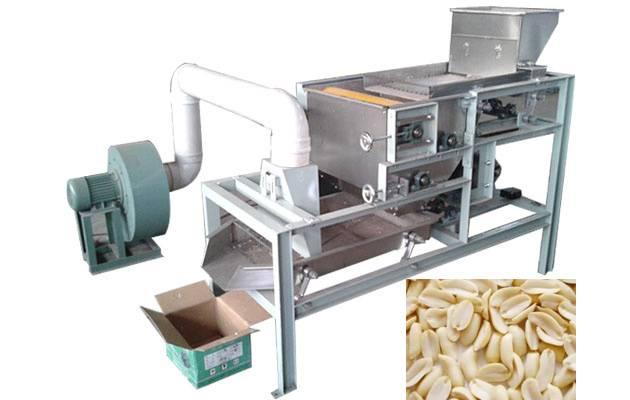Hot Selling Peanut Half Cutting Machine in Factory Price