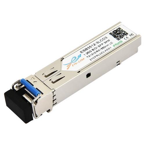 1.25G SM 3KM BiDi SFP Transceiver