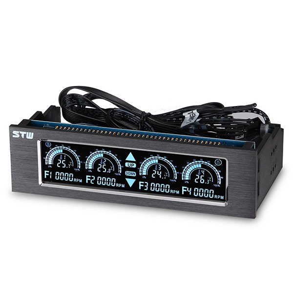 STW computer case 5.25 front panel Fan controller