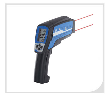 Dual Lasers Infrared Thermometer GT768LCU