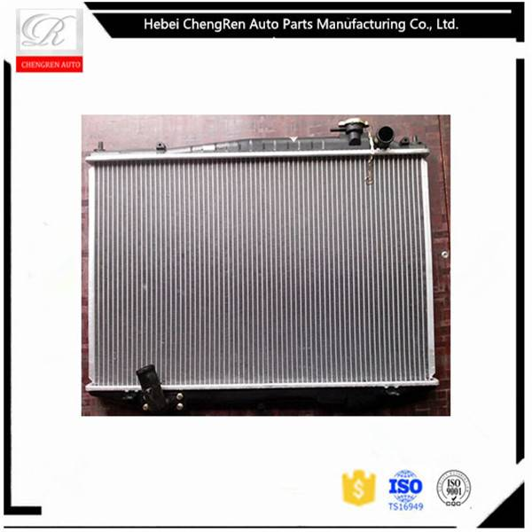 All aluminum core car radiator used for Nissan YD25