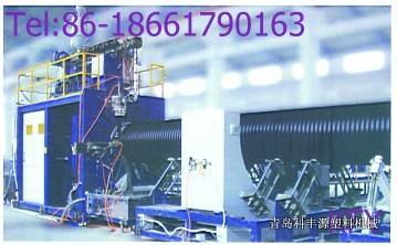 HDPE Hollow Wall Winding Production Line