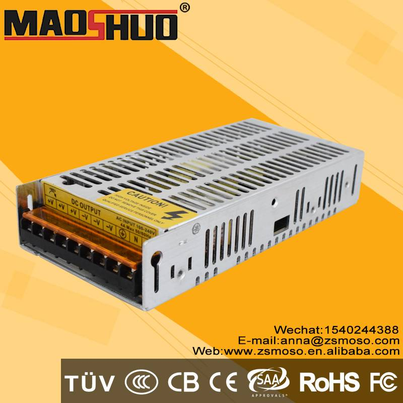Professional Manufacturer CE RoHS IP20 Standard 200w 24v non waterproof Led Driver