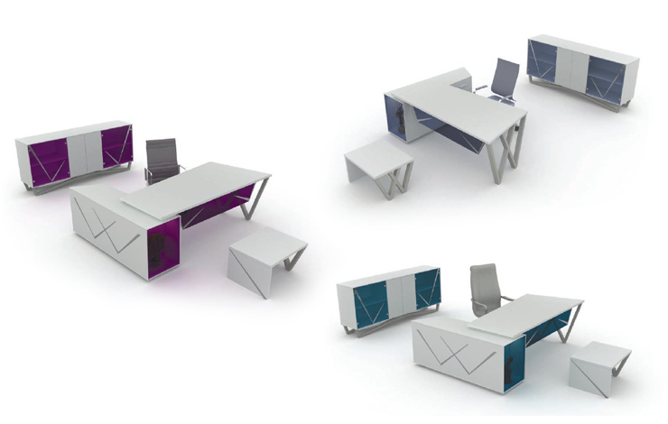 Specially Women Design Office Desk Selling Offer set