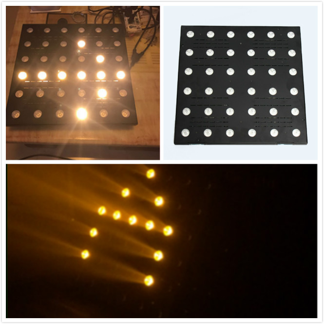 china supplier 2018 newest product Matrix panel light stage backdrop lighting