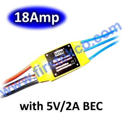 18A Brushless with BEC ESC RC Speed Controller