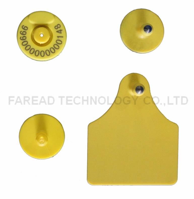 ISO11784/ISO11785 sheepCattle Pig ear Mark RFID Animal ear tag ICAR Certification