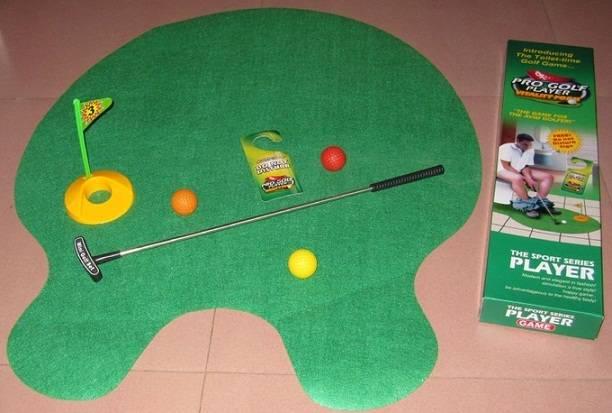 Toilet Golf Putter Set