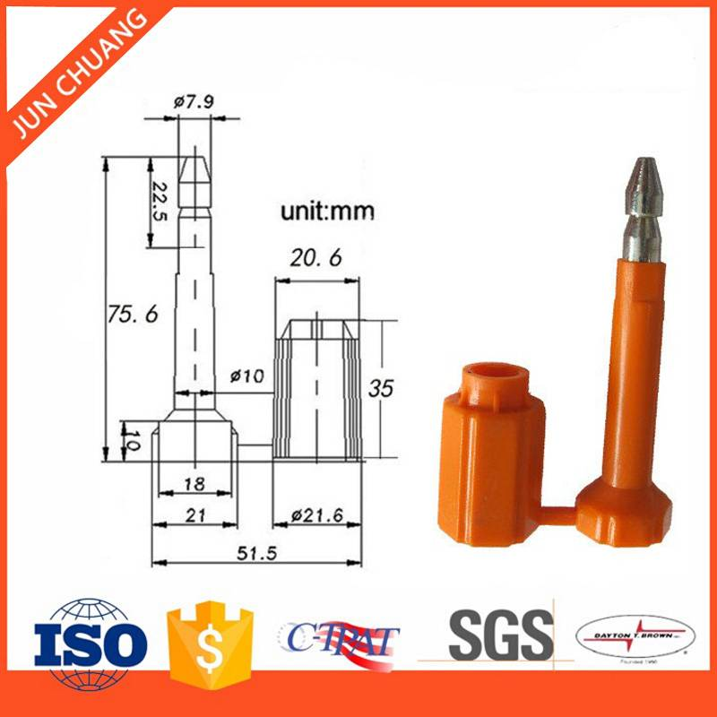 ISO 17712 security Container bolt seal