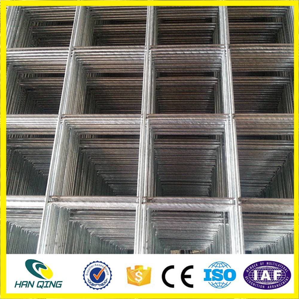 1 inch X1 inch opening galvanized welded wire mesh panel with 1.3mm wire diameter