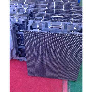 SMD LED display, indoor P6, die-cast aluminum cabinet