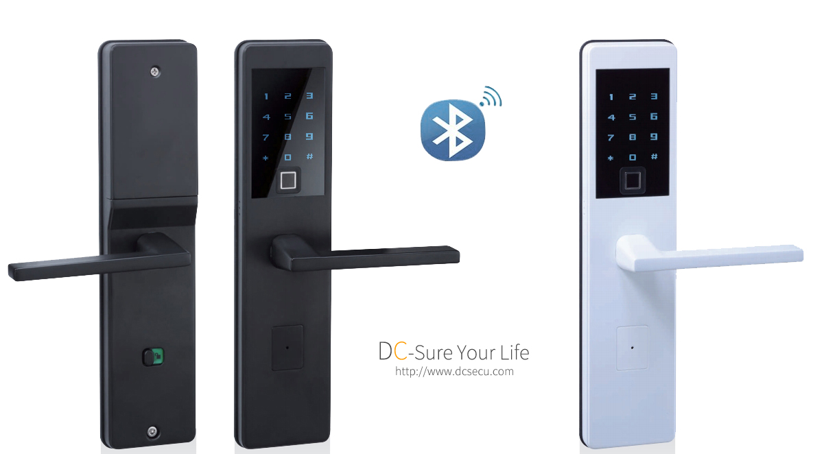 Architectural Hardware Bluetooth Fingerprint Door Locks Residential Commercial Digital door locks