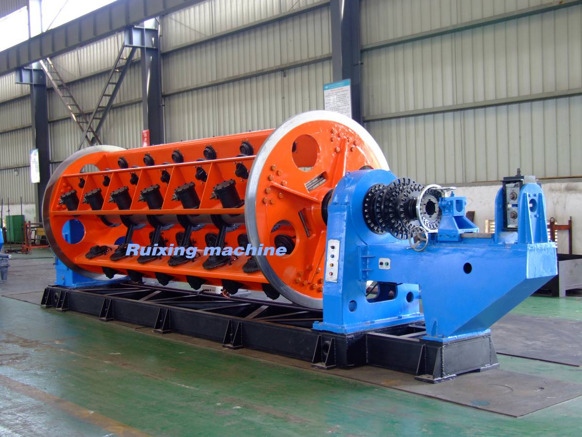 full Automatic rigid aluminum wire stranding machine