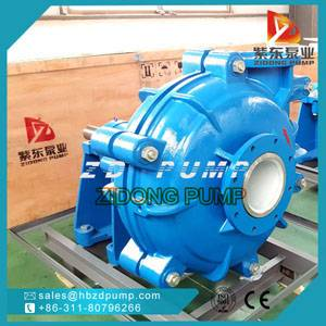 ZH centrifugal slurry pump ash mud pump water pump