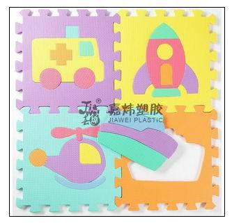 EVA foam puzzle mat with design