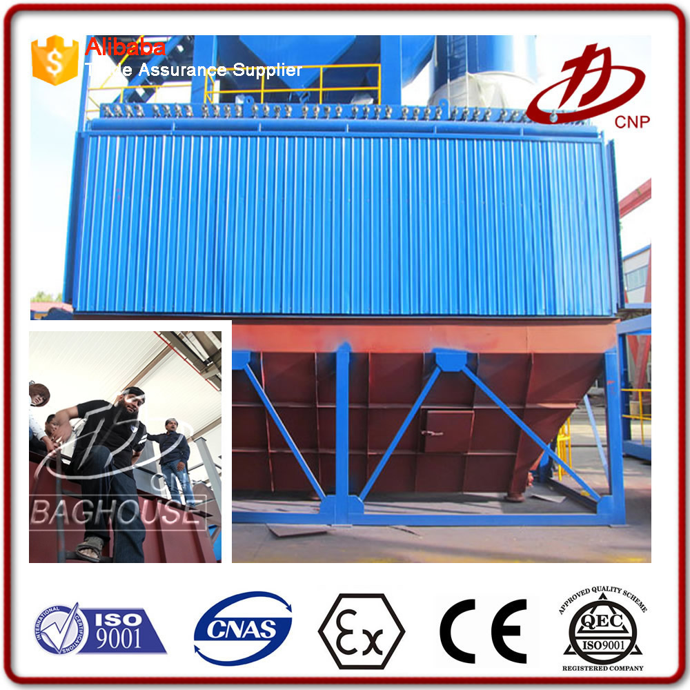 High efficiency bag type dust collector