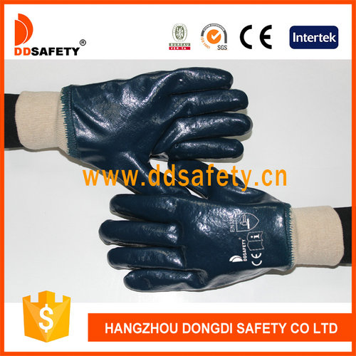 Cotton/Jersey with blue nitrile gloves-DCN406