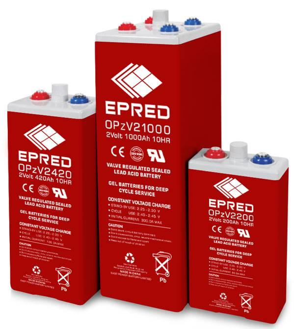 OPzV Series GEL batteries