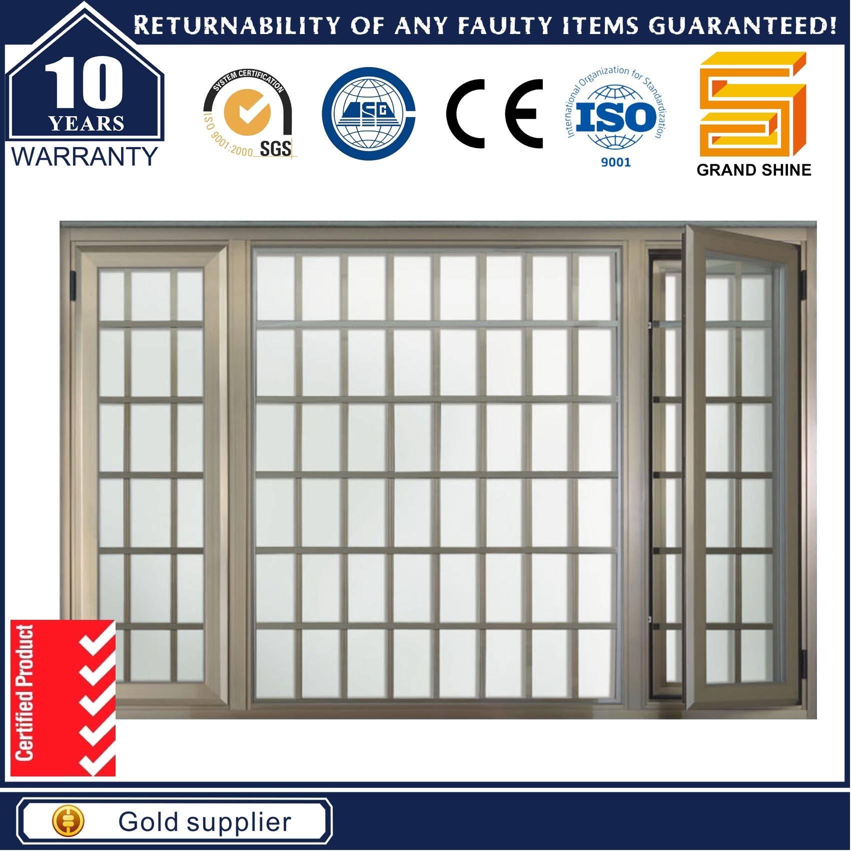 Size Customized Swing Double Glazing Aluminum Casement Window