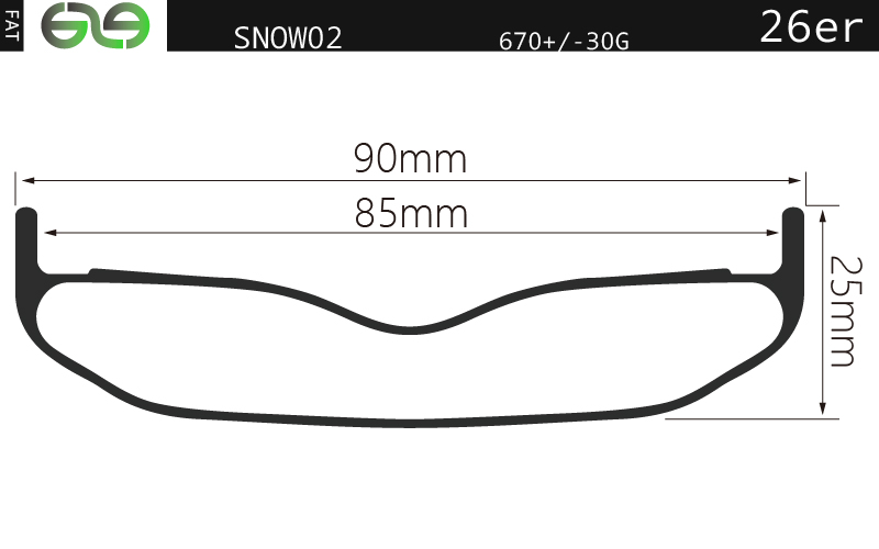 SNOW02,fat bike rim,fat bike rims for sale,carbon fat bike rim,fat bike for winter commuting,fat bik