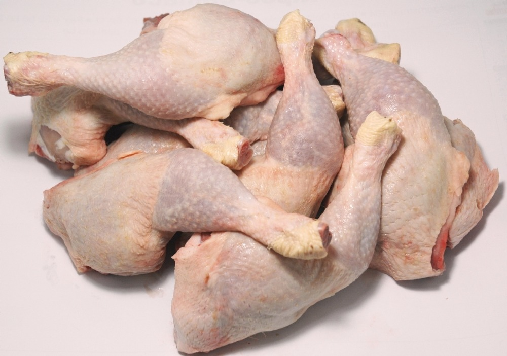 Frozen HALAL Chicken Quarter Legs