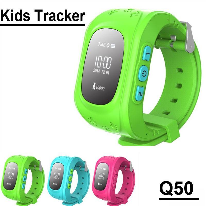 China watch supplier SOS GPS Kids tarker watch, smart watch Q50 anti-lost relojes inteligentes
