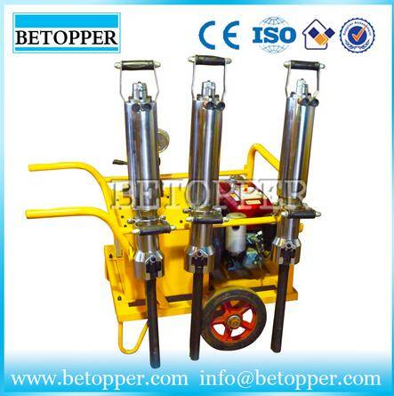 2015 hydraulic stone splitter made in china