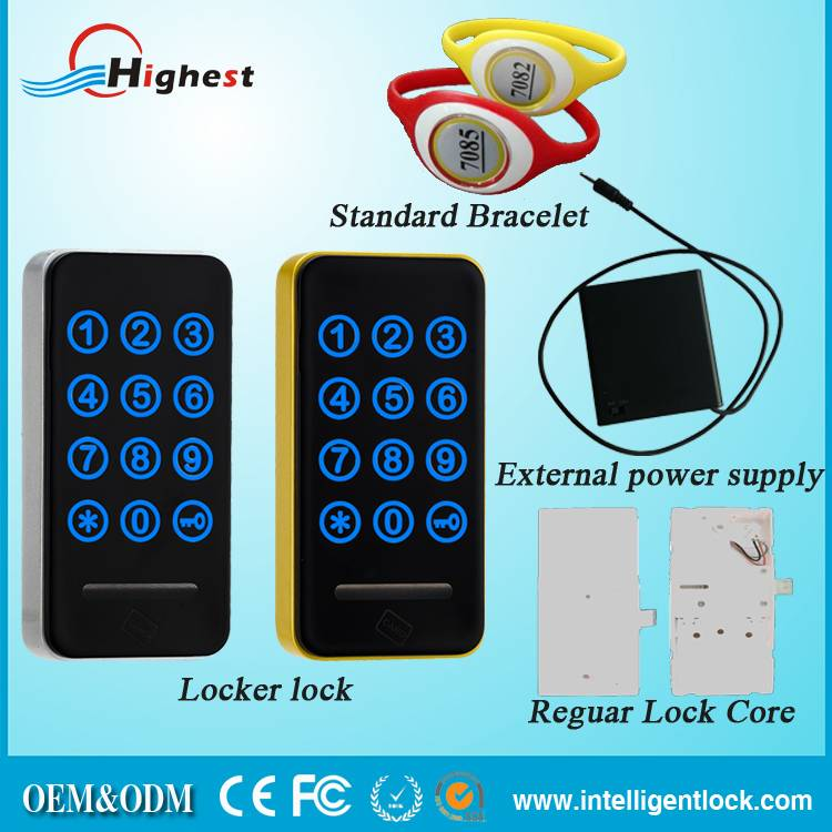 Factory Price High Quality Smart Safe Code Cabinet Lock with Rfid card