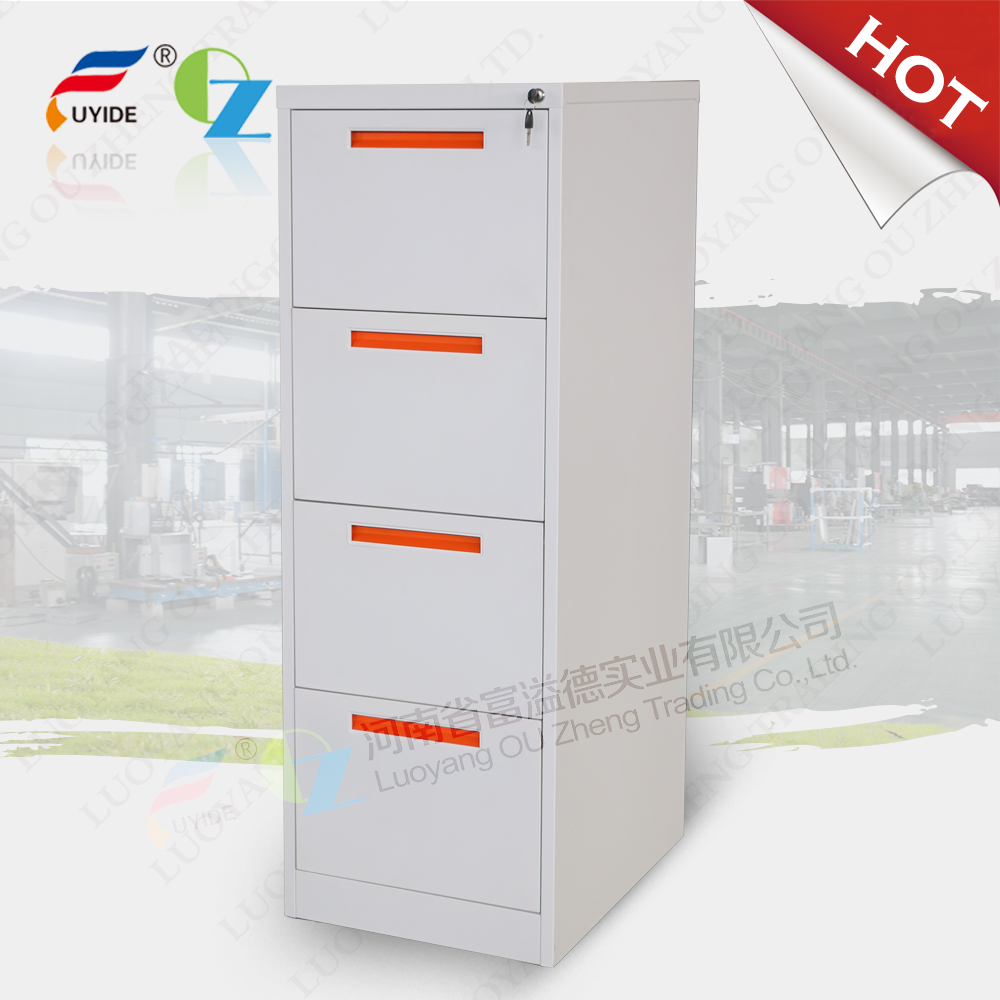 Four Drawer Vertical Steel Filing Cabinets