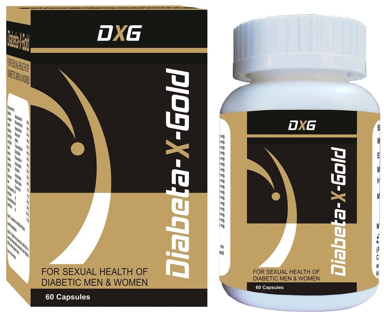 Diabeta-X-Gold-For Sexual Health of Diabetic Men & Women