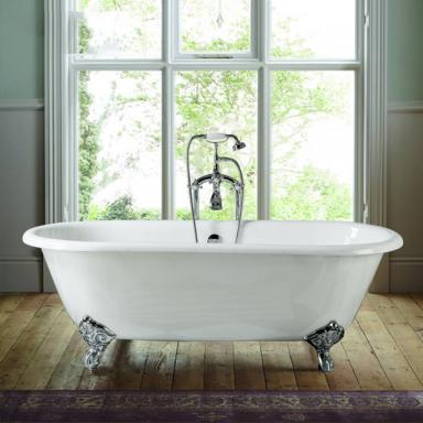 freestanding cast iron bathtub with clawfoot NH-1001