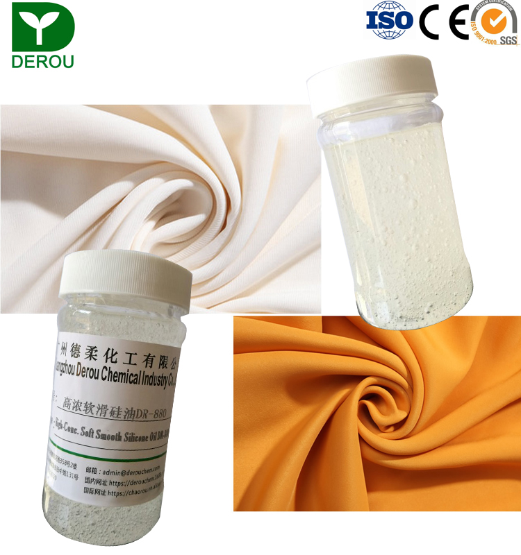 Chinese supplier textile chemicals agent soft and smooth amino-modified silicone oil DR-880