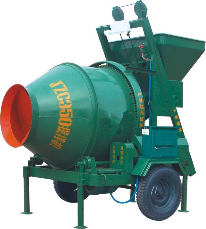 Hot Sale For Small Mobile Concrete Mixer Jzc350,Small Mobile Concrete Mixer