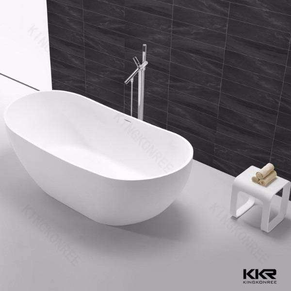 Cheap freestanding solid surface bathtub