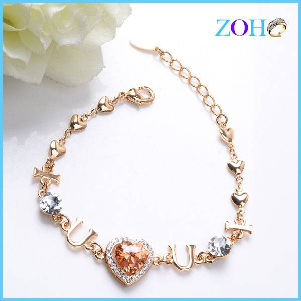 2016 new arrival love bracelets chain yiwu costume accessories bracelet manufacturer
