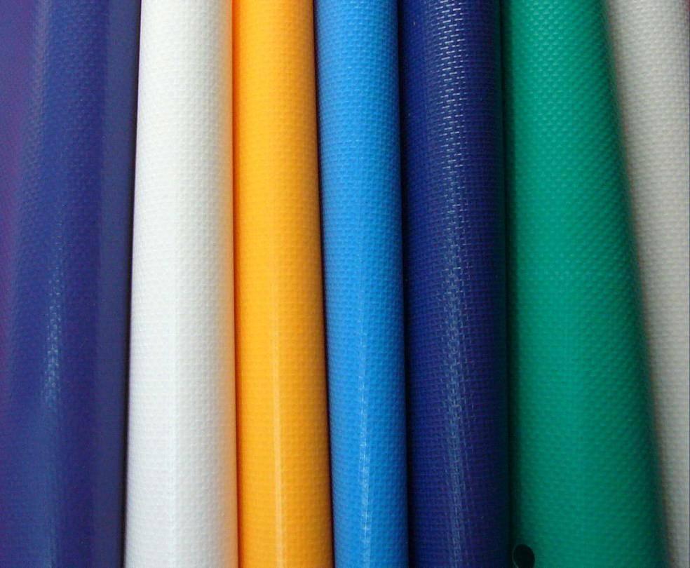 High Quality PVC Stripe Tarpaulin