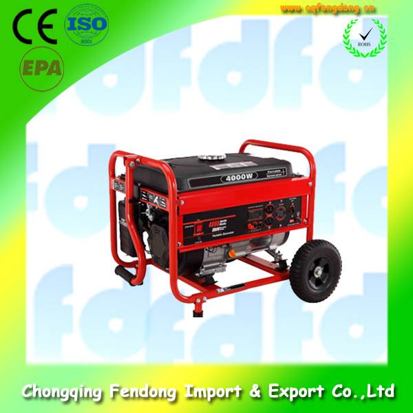 China  Portable Silent Inverter 2.0kw Gasoline Generators