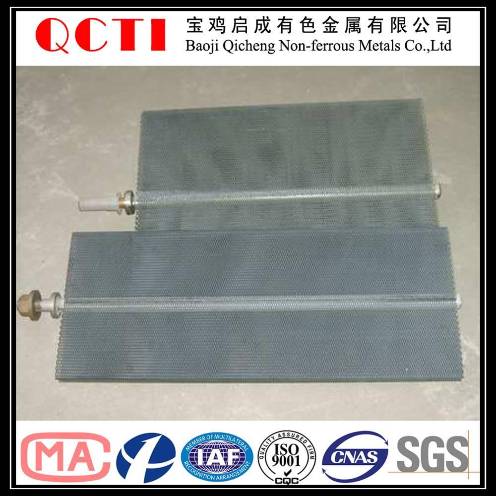 corrosion resistant electrolysis titanium electrode