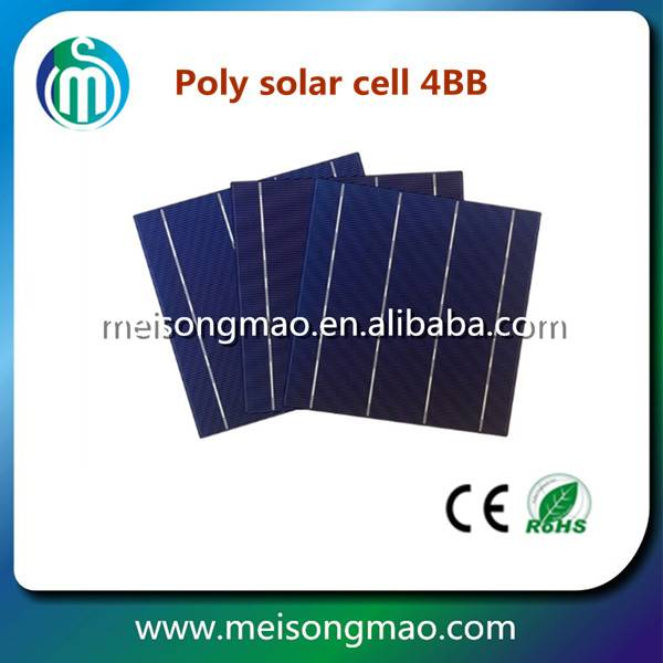 Buy solar cell 156*156 surplus stock poly solar cell for solar panel, solar cell manufacturing plant