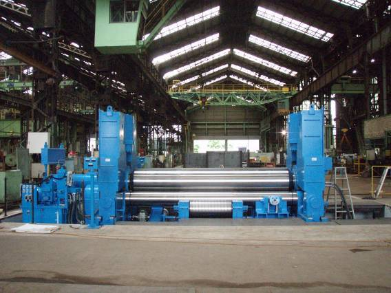 Sheet steel plate rolling machine/bending machine(small size)