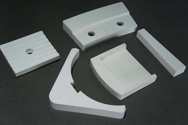Alumina special-shaped workpiece