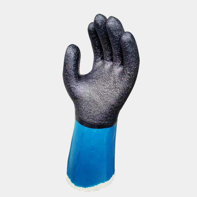 Long Sleeve (Knitting/Sewing)Sandy/Foam Glove Production Line