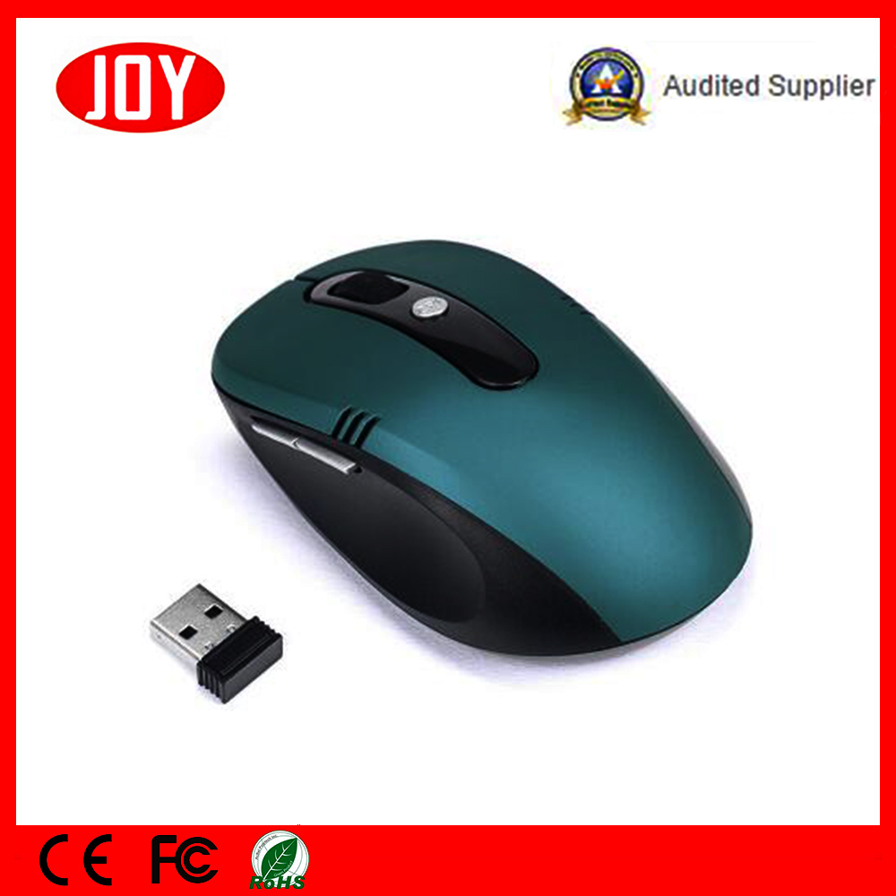 New Products 2.4G Optical 6D Wireless Mouse Mini Mouse Factory in China